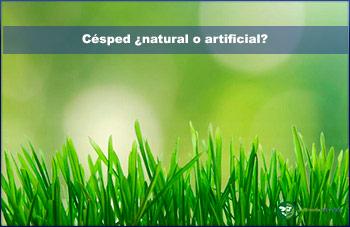 césped ¿natural o artificial?