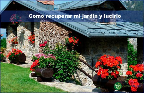 un jardín limpio y ordenado es un jardín sano