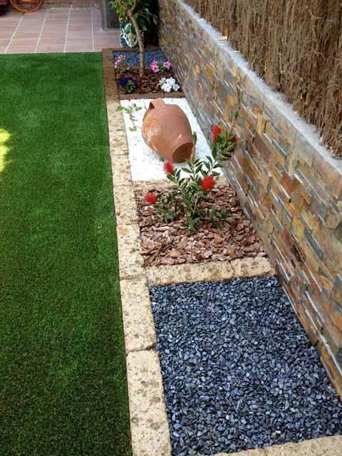 Jardín minimalista