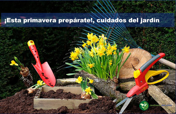 Prepárate para cuidar tu jardín en primavera