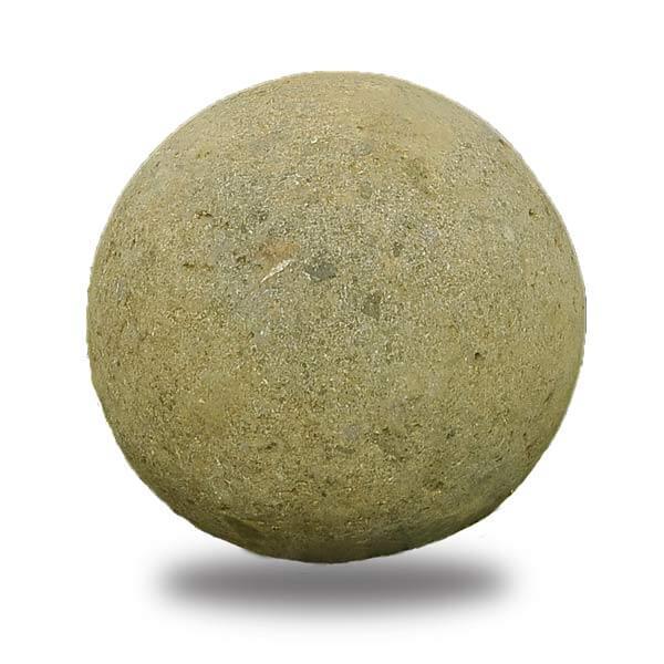 Esfera decorativa jardín green stone