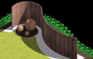 Diseño 3D- Jardín Moderno