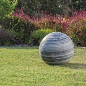 Esfera-jardin-decorativa-marmol-veteado.